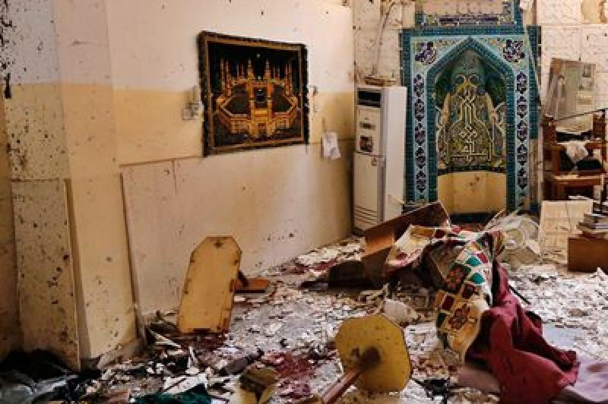 Three Sunni mosques bombed in Iraq