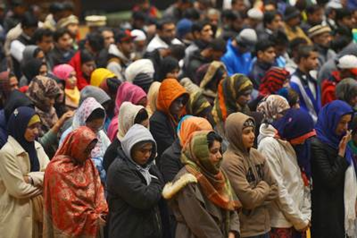 Rohingya refugees in Jammu pray for safety