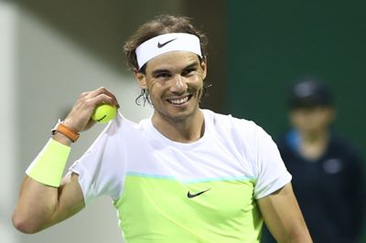 Nadal, Murray advance to 3rd round at Madrid Masters