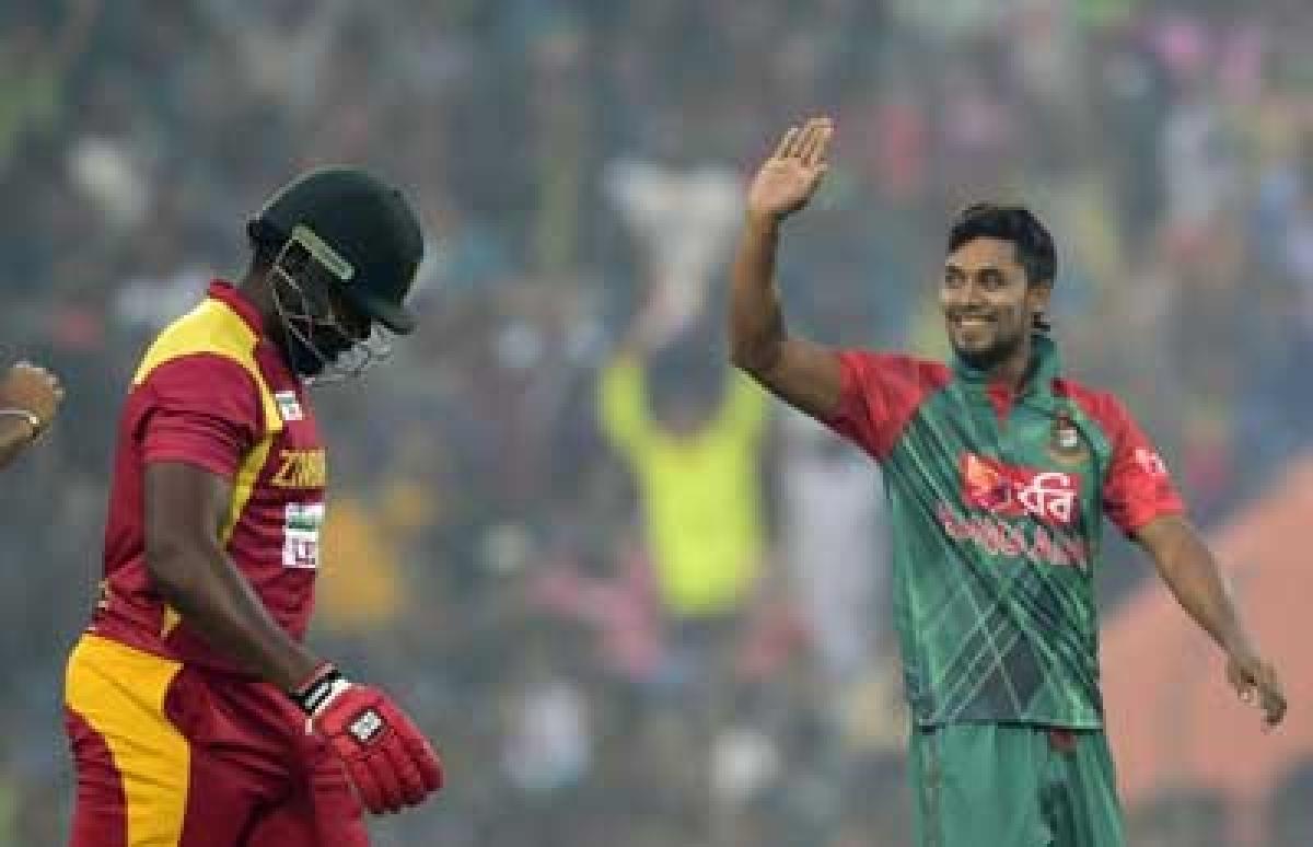 All-rounder Sabbir seals emphatic Bangladesh win over Zimbabwe