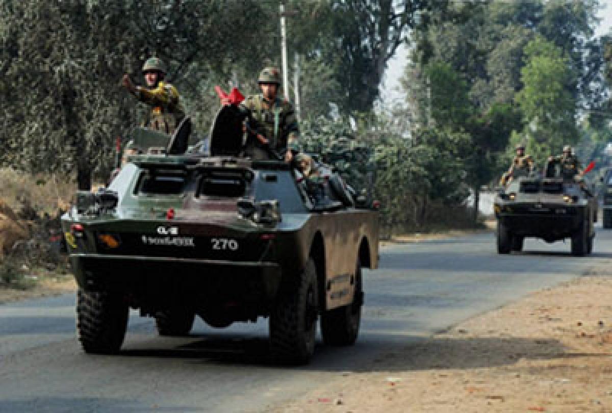 India, Myanmar armies launch operation against NE militants