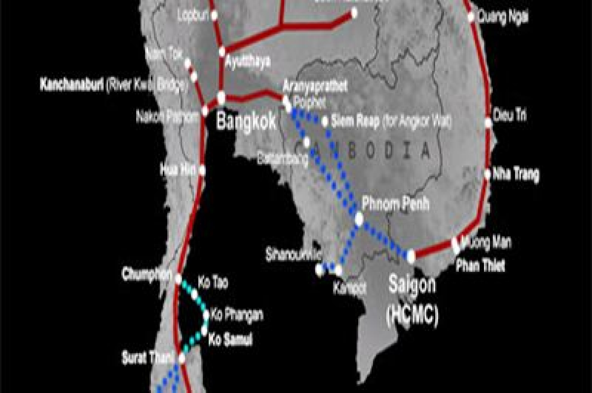 Thailand-Cambodia rail link to complete by December