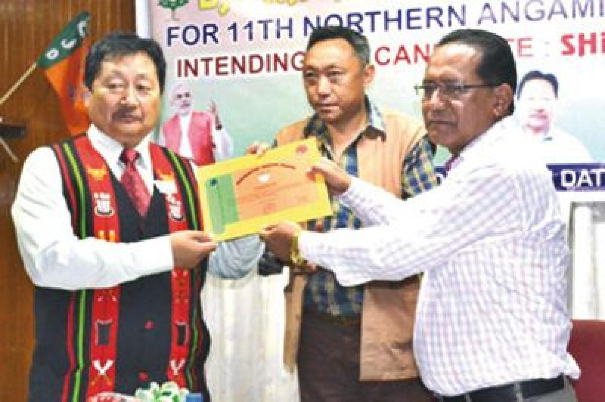 Visasolie Lhoungu is new BJP president in Nagaland