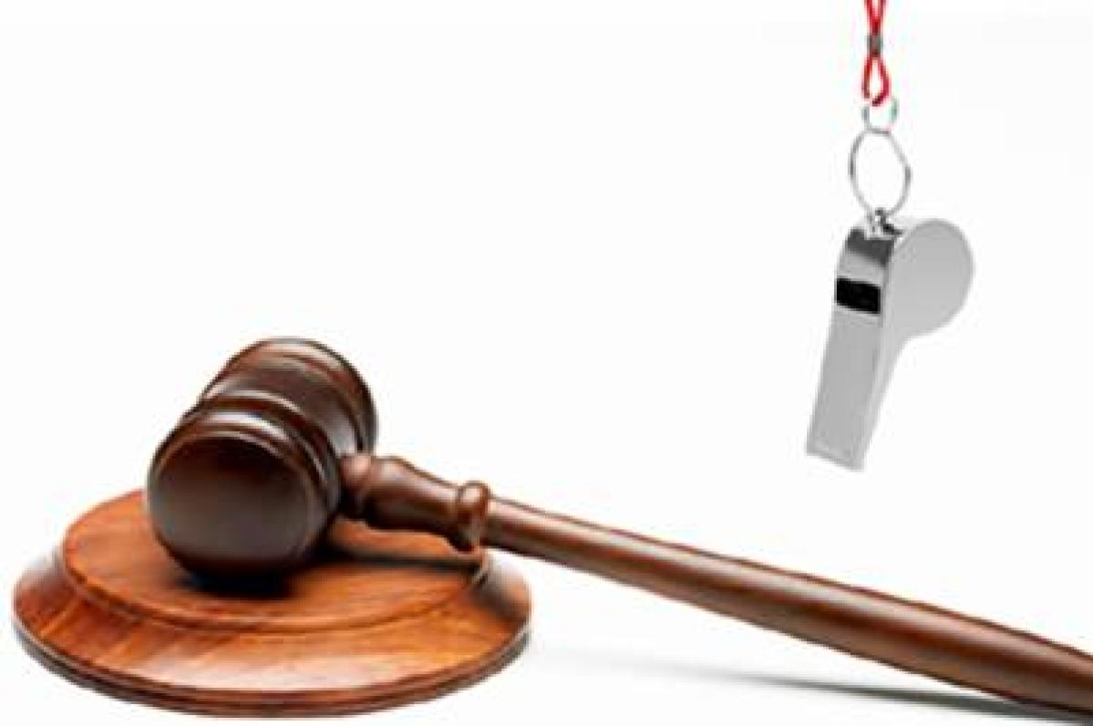 BJP slammed for failing to implement whistleblower act