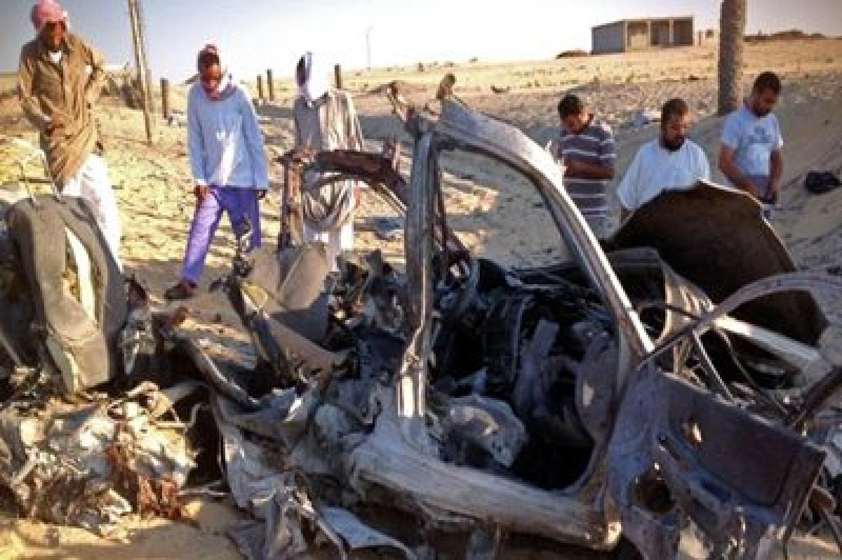 Two Egyptian policemen killed in Sinai explosion
