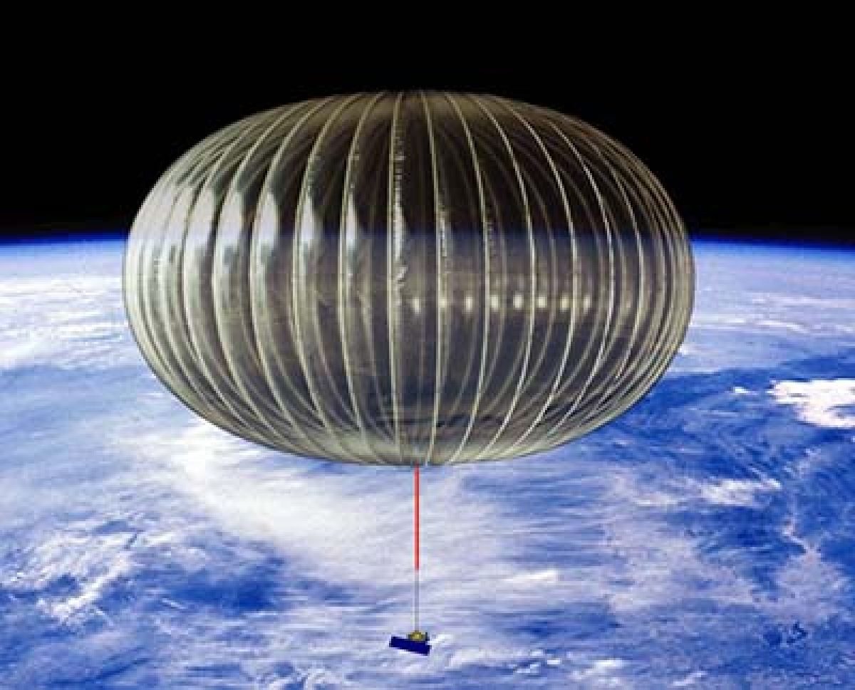 Balloon as huge as football field   studying solar flares over Antarctica