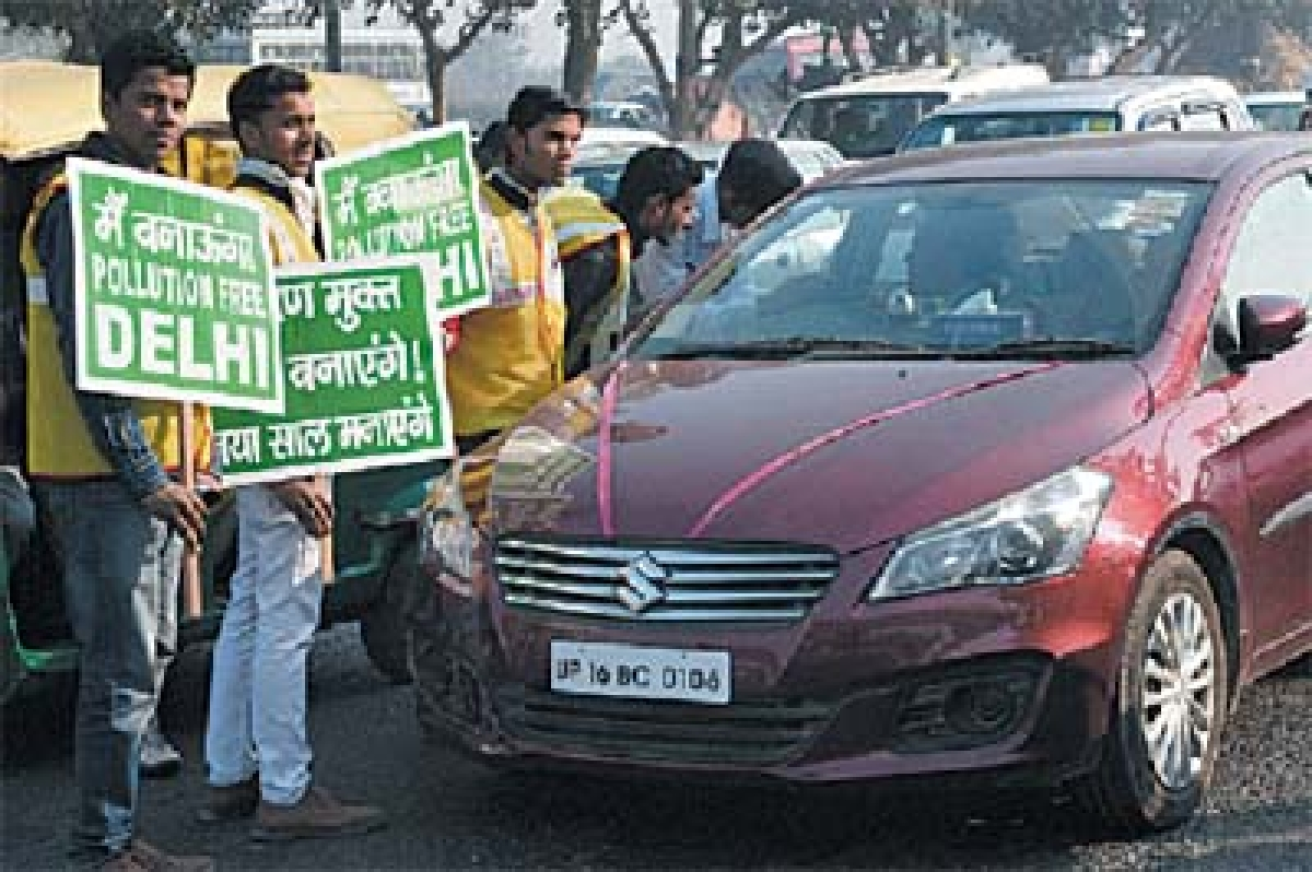 Why other pollution issues not given emphasis as odd-even