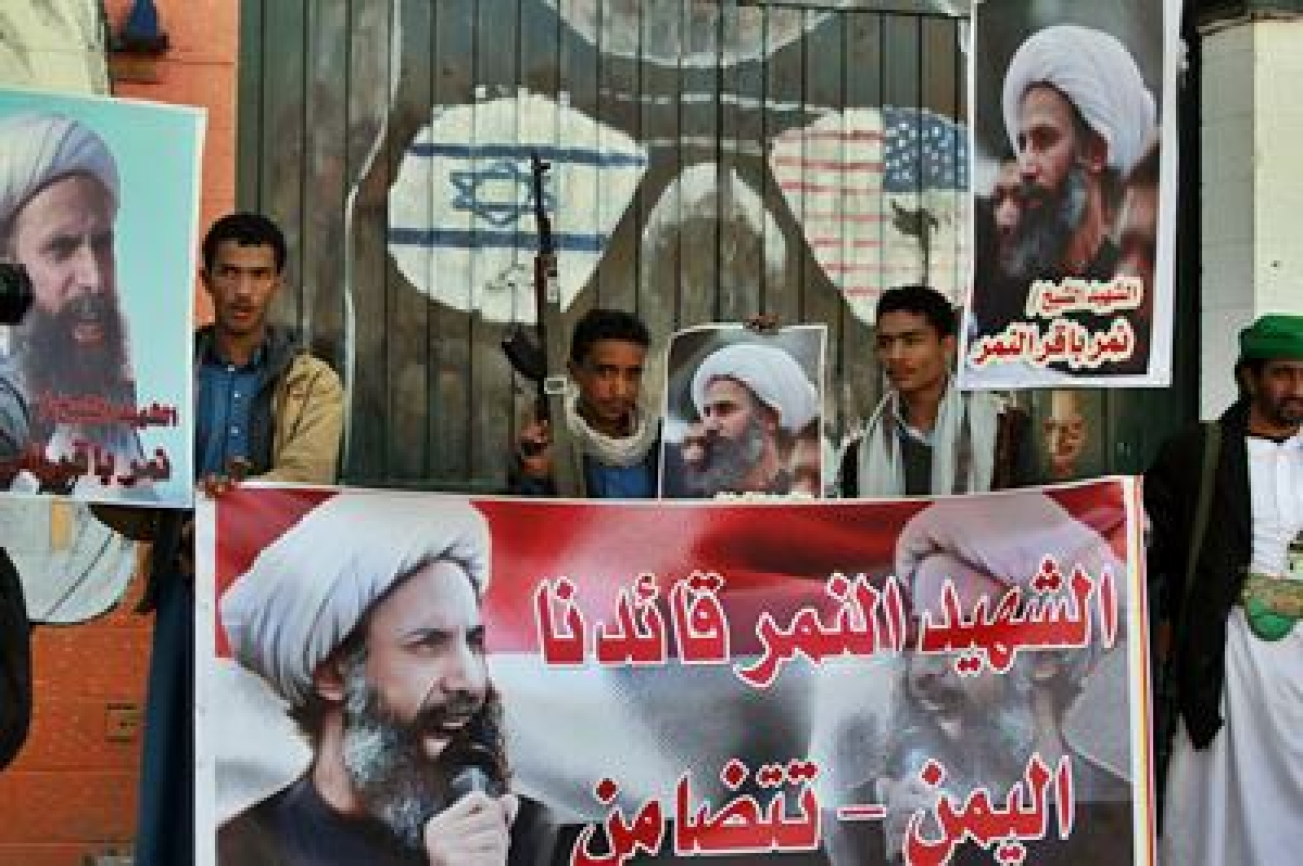 Iran plan rallies to protest against Shia cleric execution