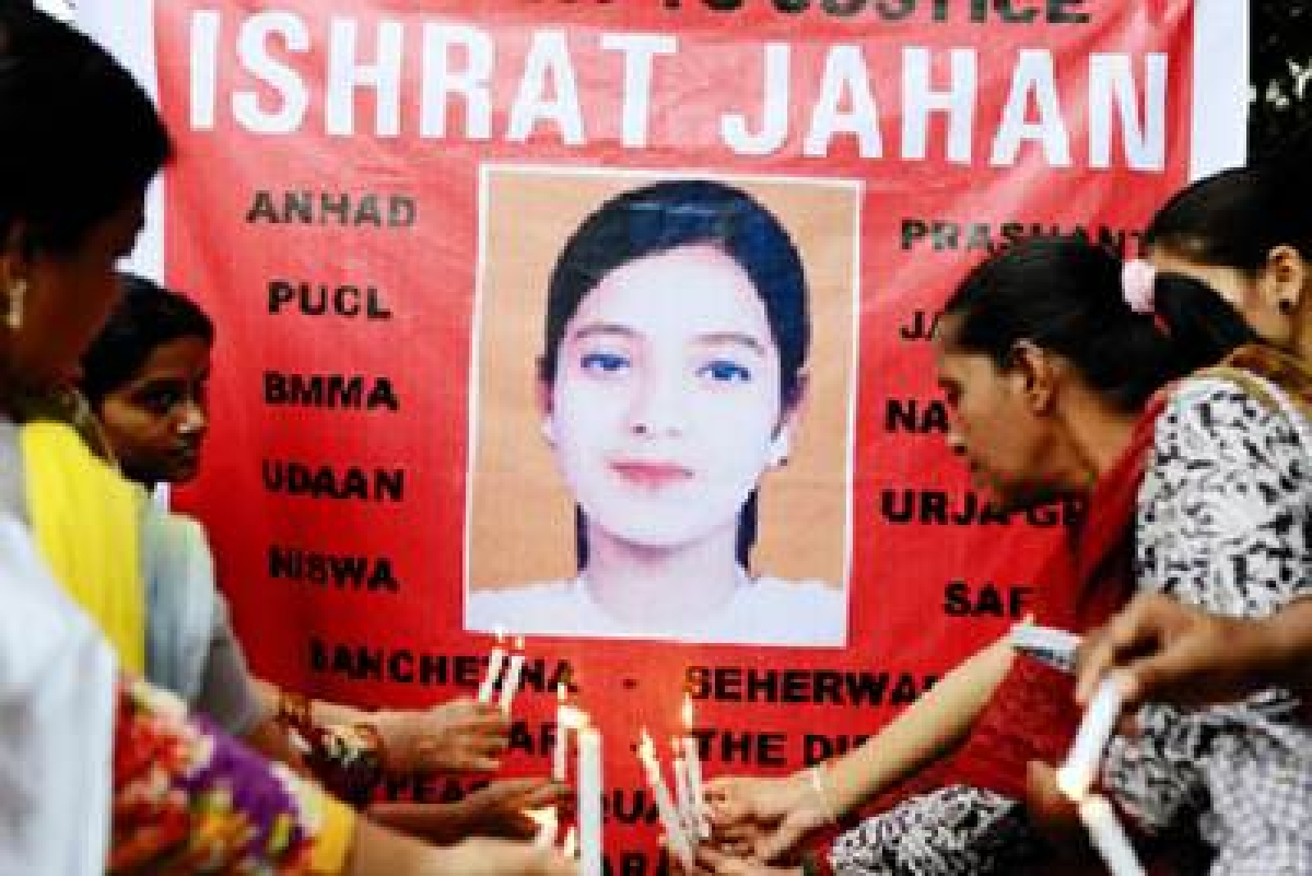 BJP's Ishrat law of the land