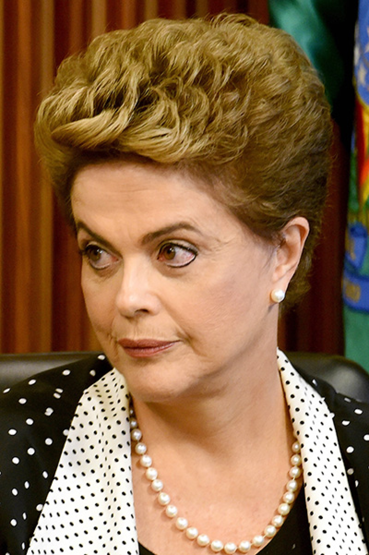 Brazilian President Dilma Rousseff attends a ministerial meeting to discuss new measures to combat the proliferation of Zika virus in Brazil, at the Planalto Palace in Brasilia, on February 1,  2016. The World Health Organization said today in Geneva that the spread of Zika and its possible connection with cases of microcephaly has become an international public health emergency. AFP PHOTO/EVARISTO SA