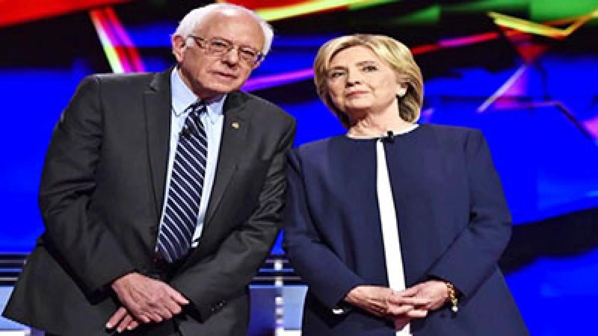It's Sanders versus Clinton