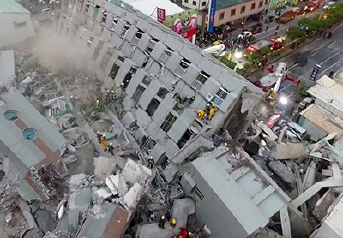 Taiwan Rocked Over 100 missing, 13 dead as strong quake rattles Taiwan