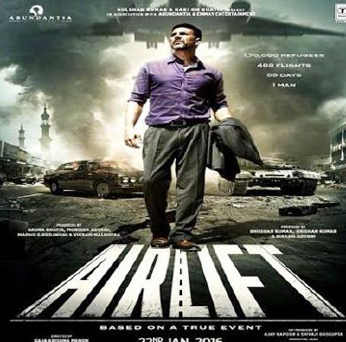 How 'real Airlift' created a Guinness record!