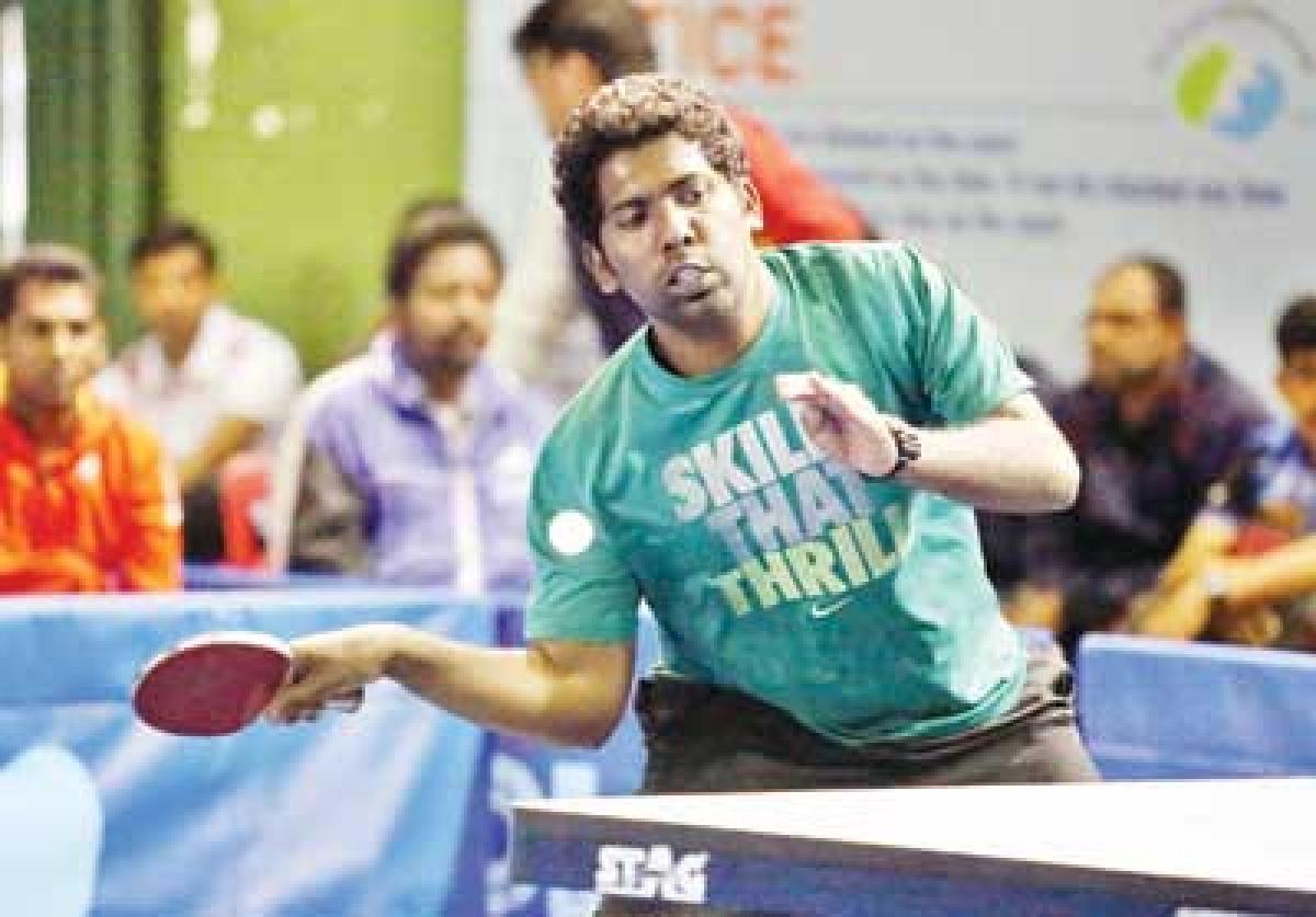 Chennai men, Kolkata women win Table Tennis championship