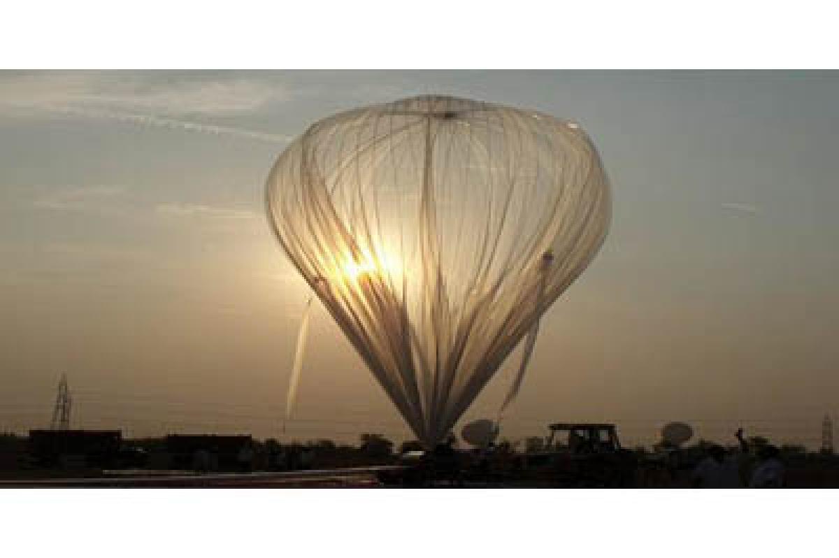 TIFR balloons set to take man into near space!