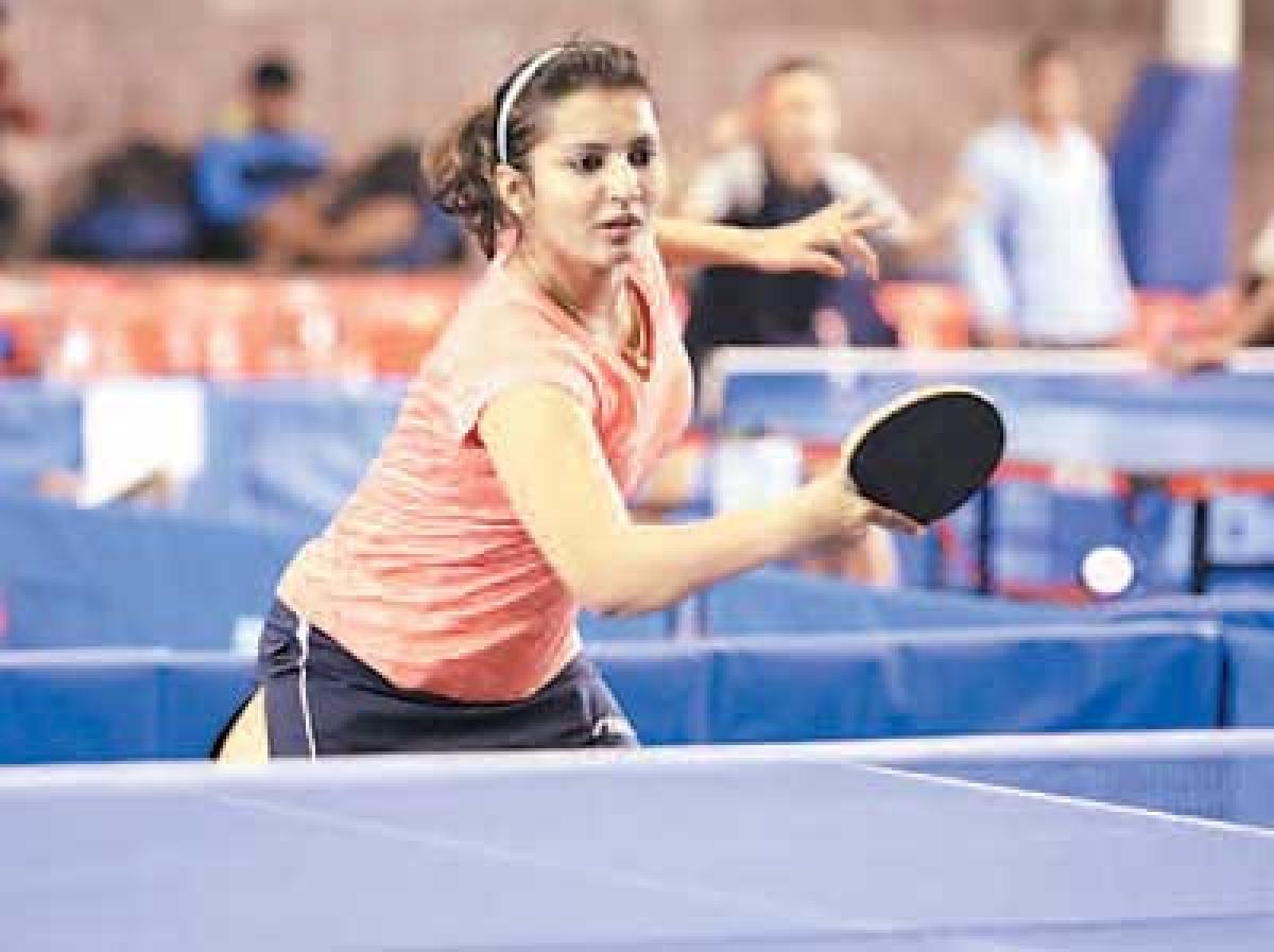 Civil services table tennis championship begins
