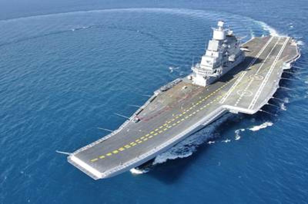 INS Vikramaditya reaches Maldives on goodwill visit
