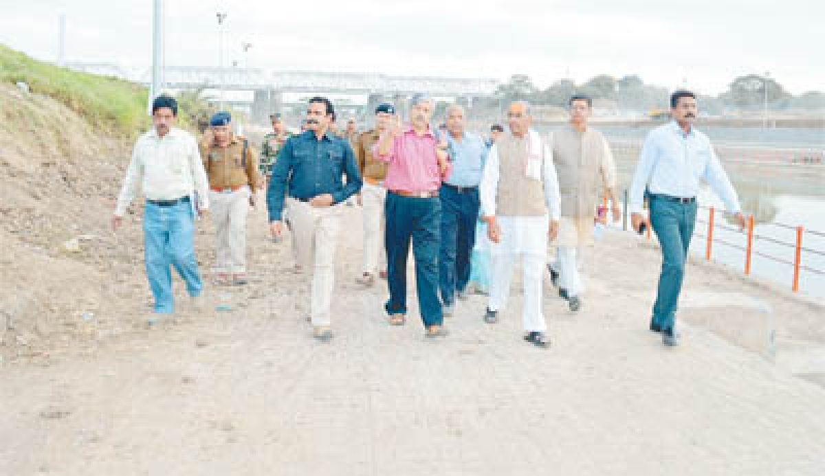 CSFOC Chairman makes inspection of Simhastha area