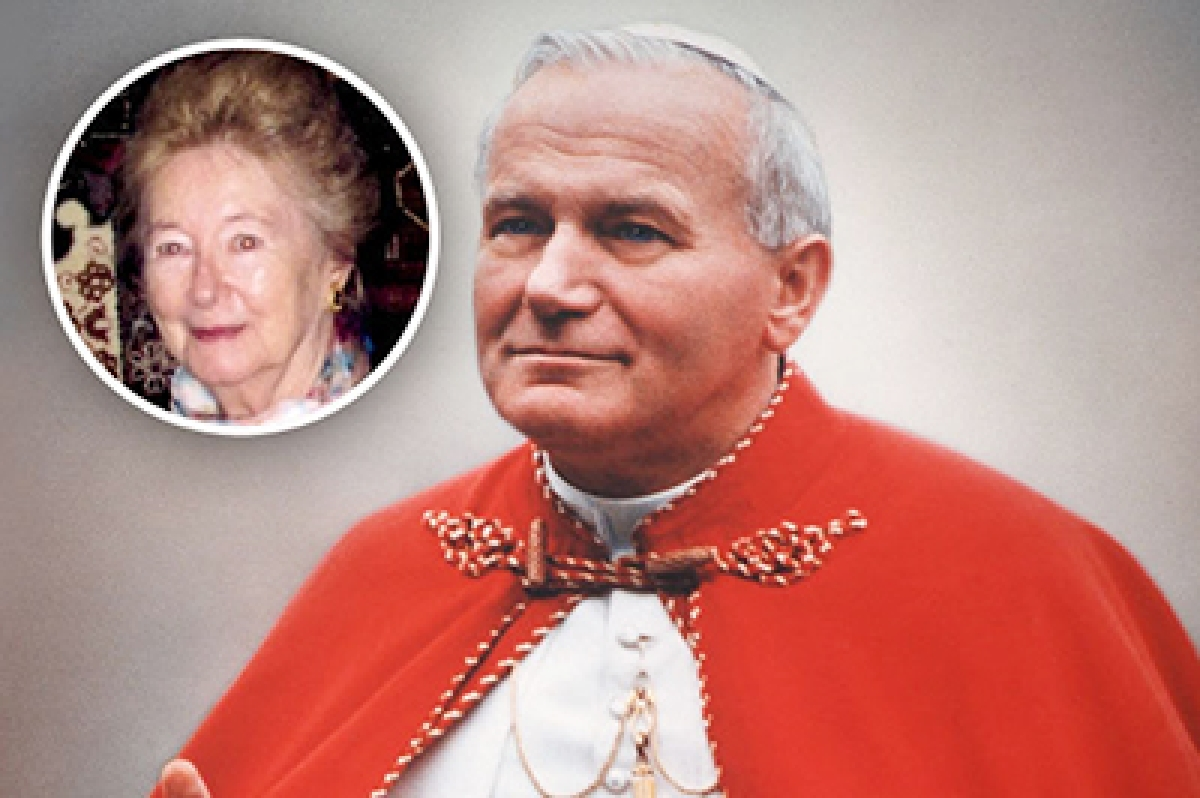 Pope John Paul II's 'intense' side is out