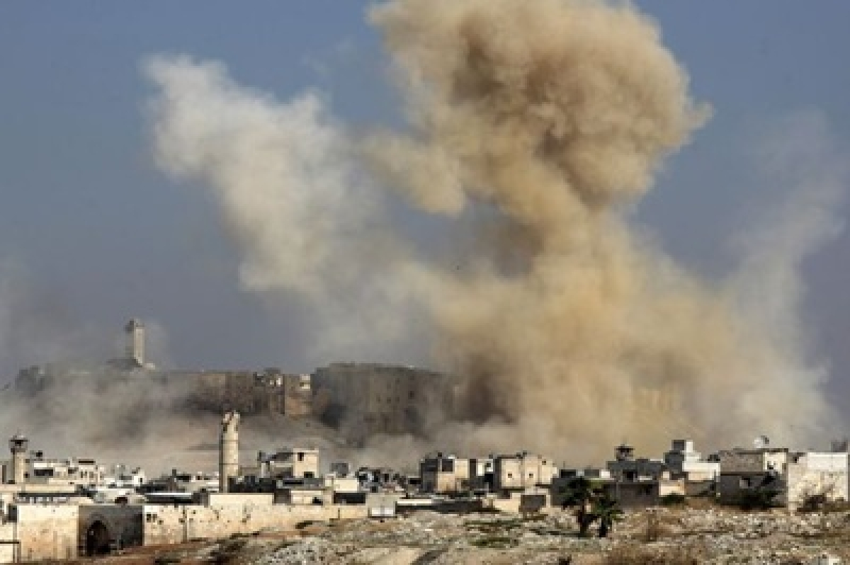 Russian air strikes on rebel bastions ahead of ceasefire