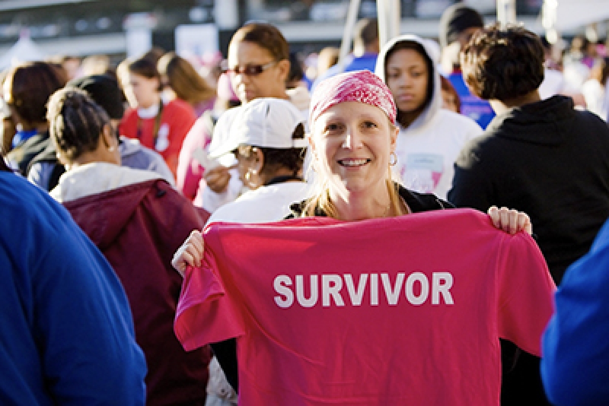 Making Strides Against Breast Cancer honors breast cancer survivors