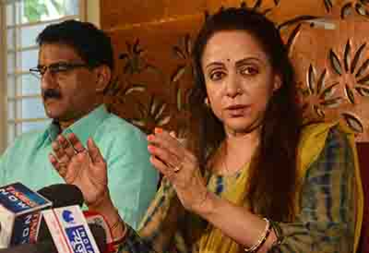Have not grabbed any land: Hema Malini