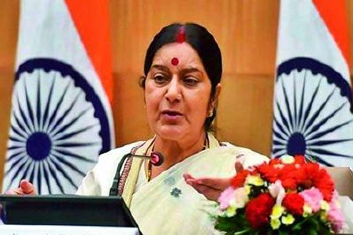 Indians held captive in Iraq are still alive, says Sushma