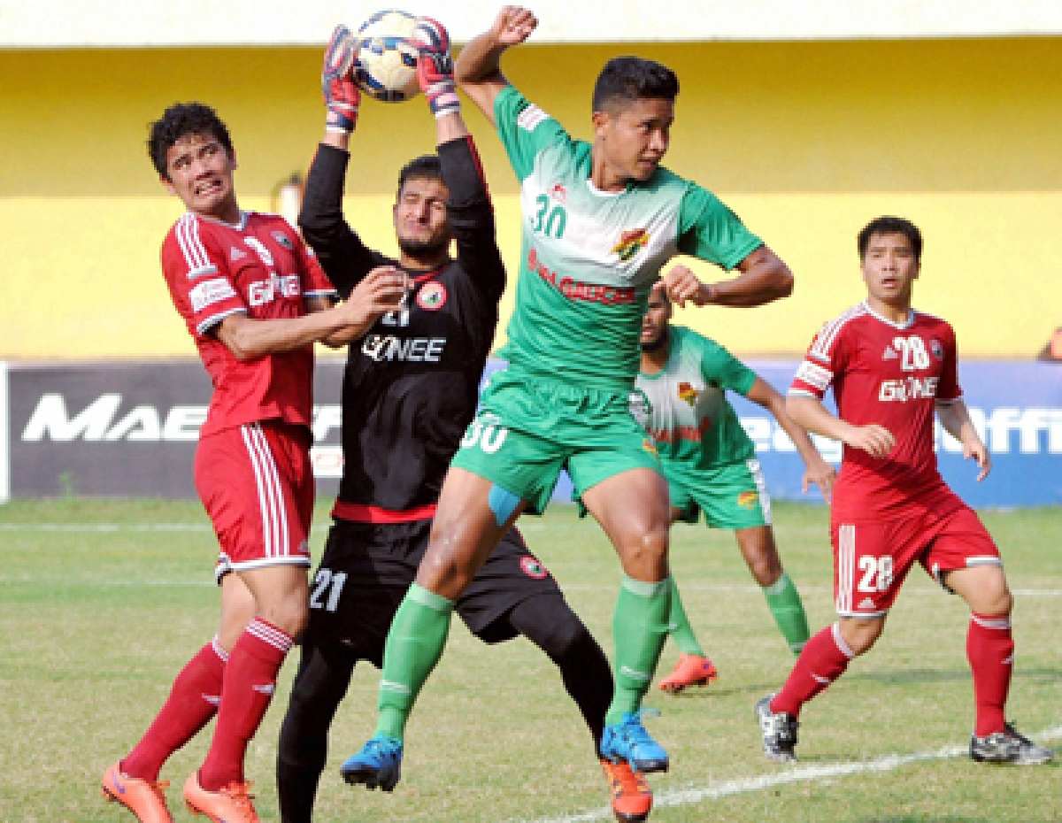 EB rally through Ranti hat-trick to beat Aizawl