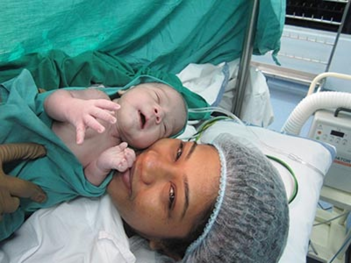 First Test tube baby becomes mother!