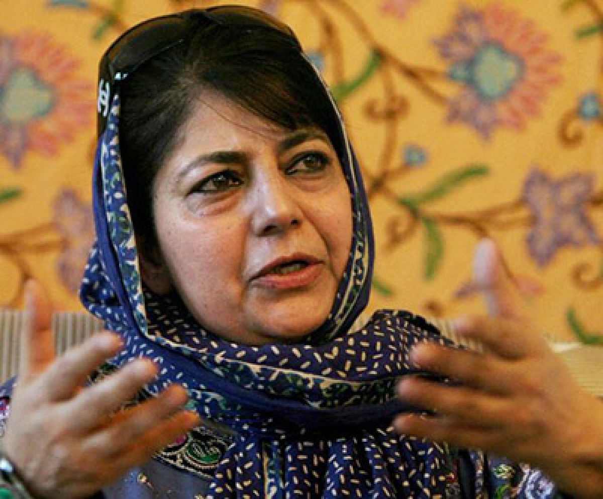 Alliance with BJP is like father's will: Mehbooba