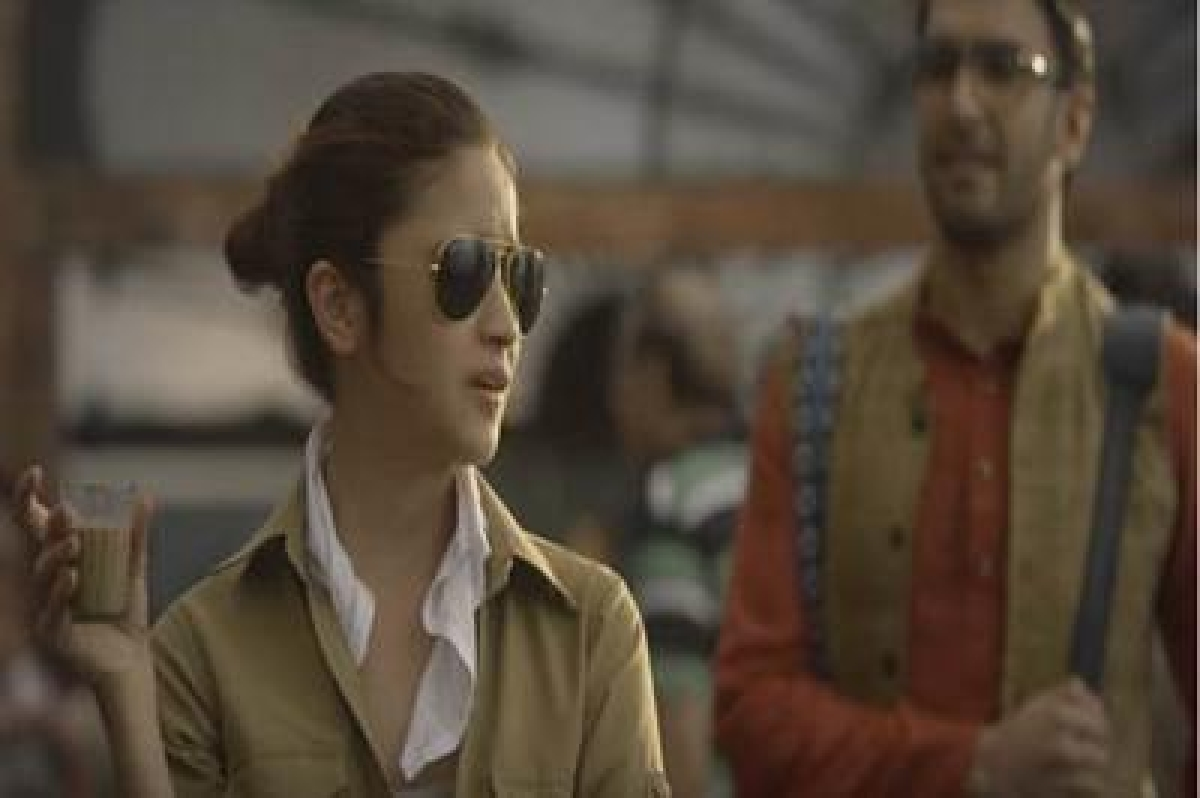 Watch Alia Bhatt plays a taxi driver in a new advert