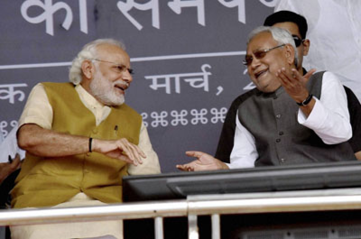 After NDA's victory in Bihar Assembly polls, Nitish Kumar thanks PM Modi for his support