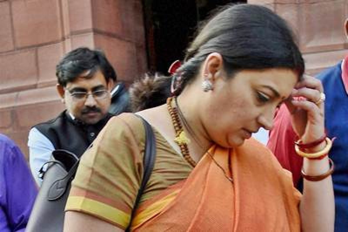 Irani row: Cong calls on LS speaker to maintain Parliamentary traditions