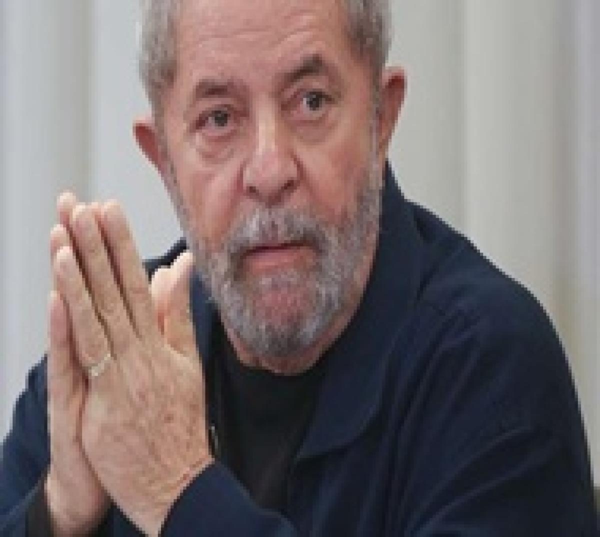 Brazil's ex-president Lula defiant after detention