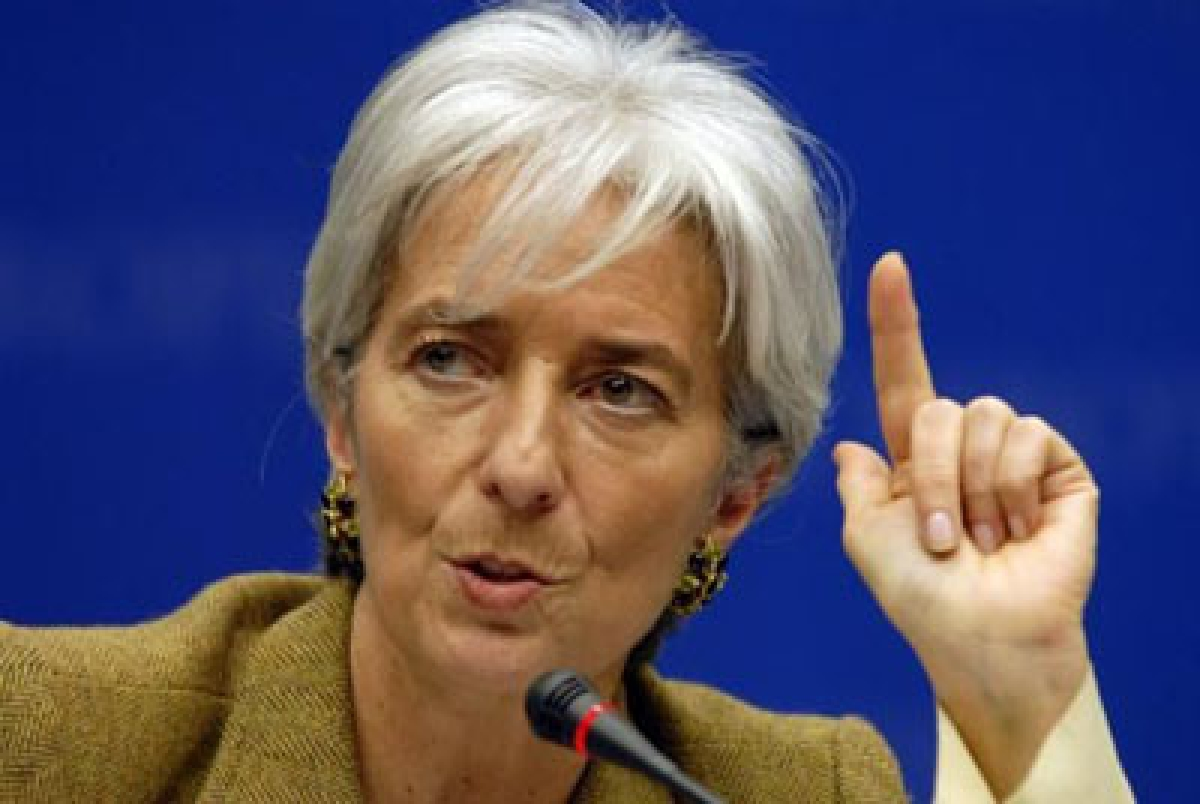 India's star shining bright: IMF chief