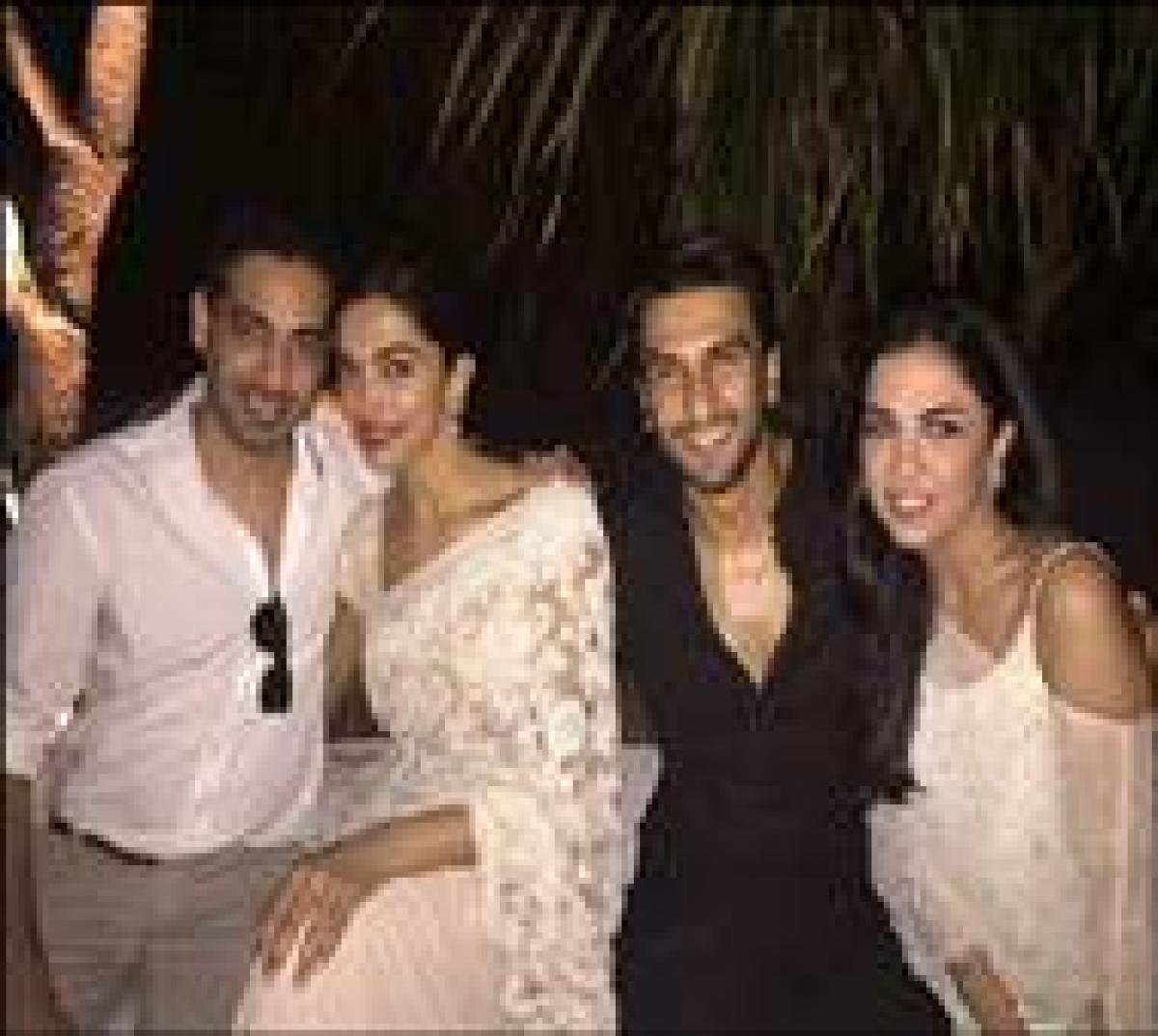Watch Ranveer Singh, Deepika Padukone shake a leg at friends wedding