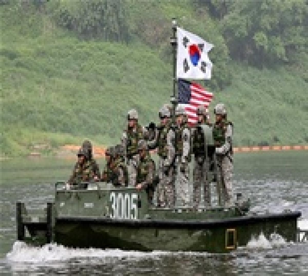 Seoul, Washington begin war games post Pyongyang rocket launch