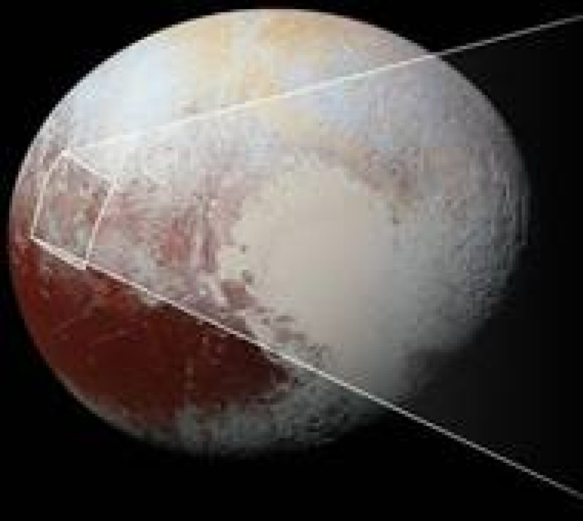 NASA discovers 'bite-mark' on Pluto's surface