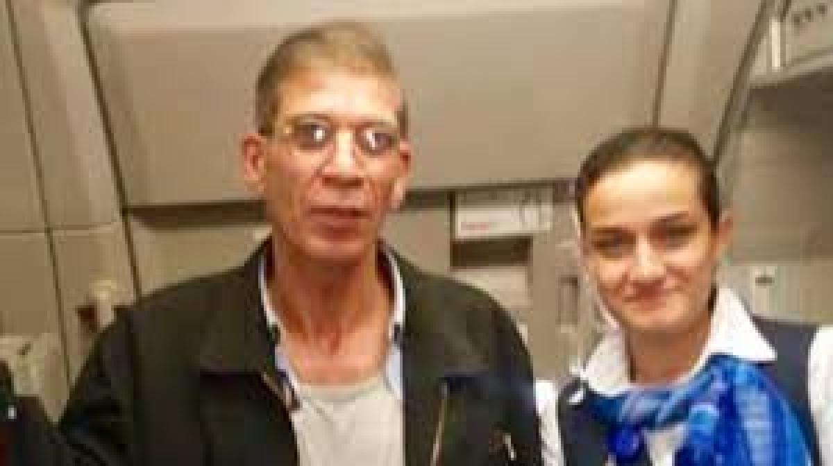 Stewardess too took  'selfie' with hijacker!