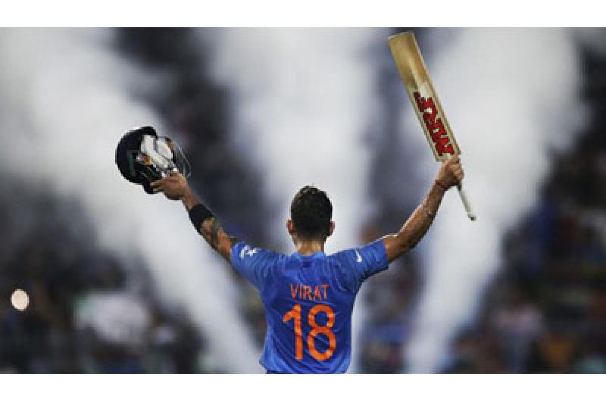 It was all about Virat Kohli's heroics…