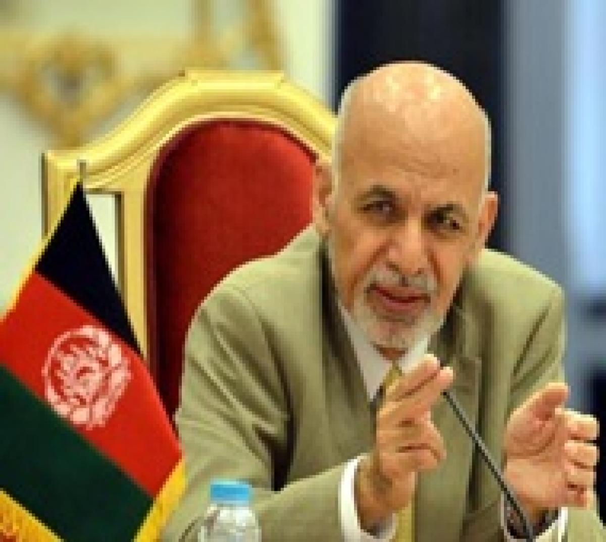 Rebels should be eliminated, says Afghan Prez