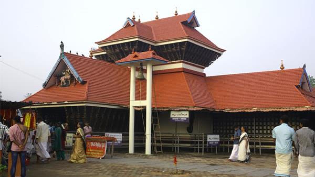Chakkulathukavu Temple- Pic credit www.keralatourism.org