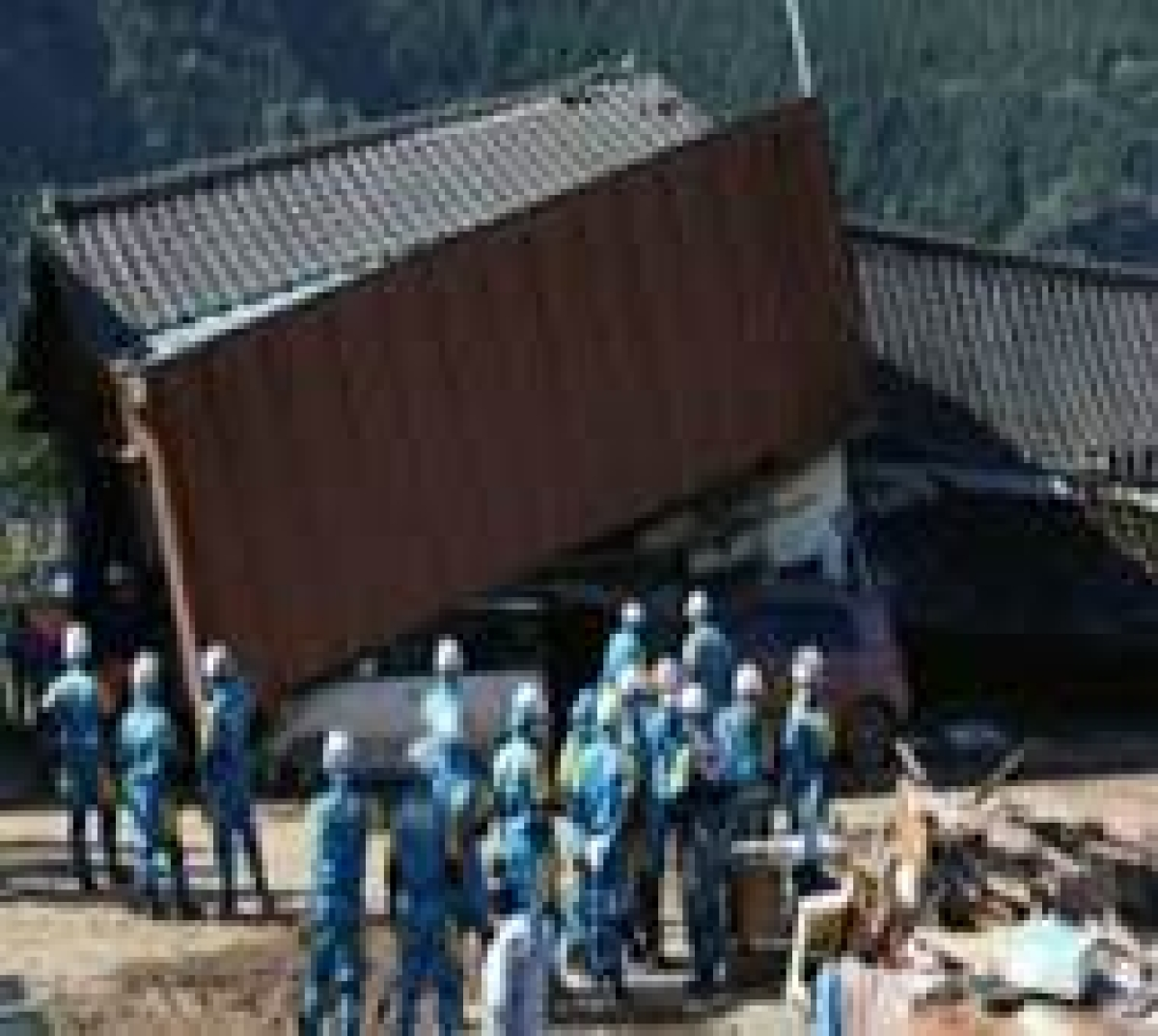 Scores trapped as Japan quakes toll hits 35