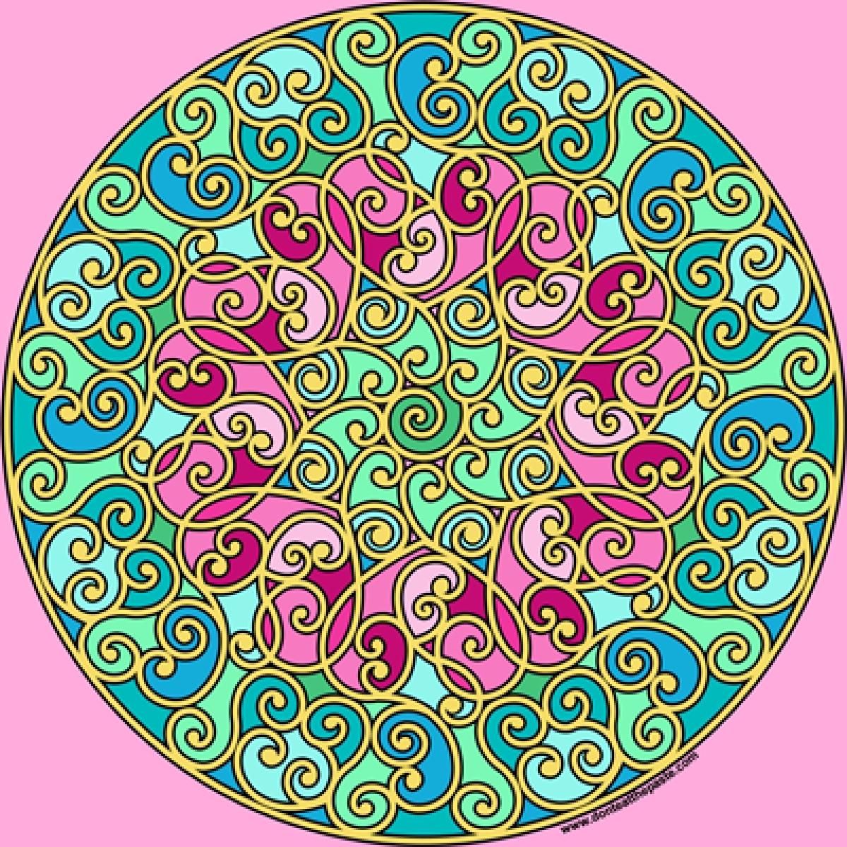 Mindful Mandala – Mandala Art Therapy