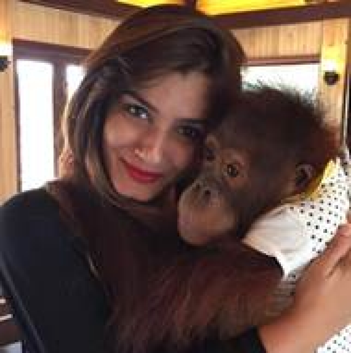 Raveena has a new admirer