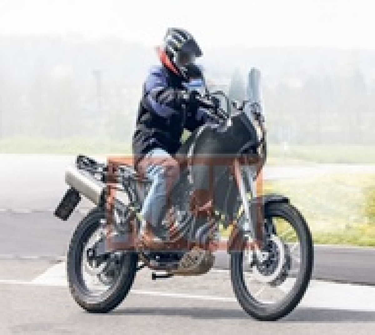 Yamaha MT-07 Tenere adventure tourer spied in Europe