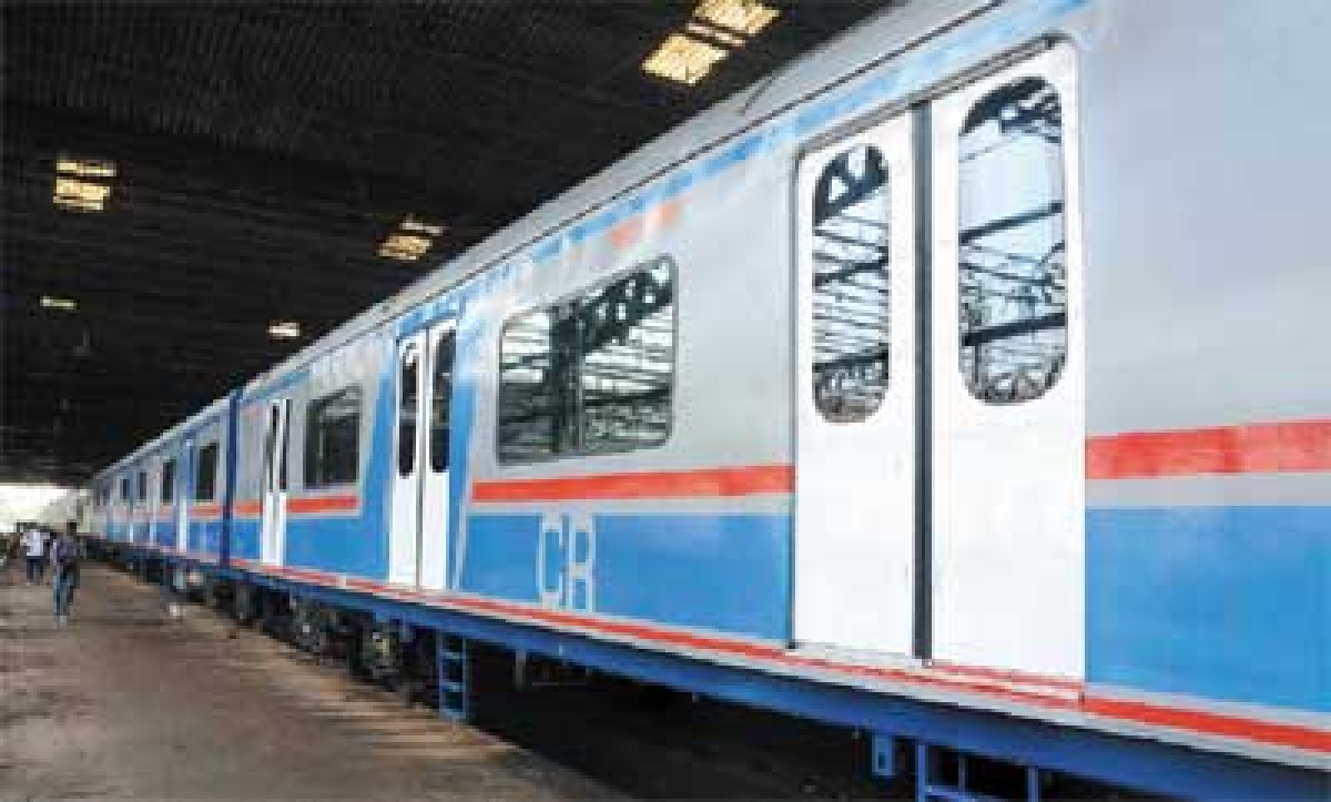 AC rake arrives in Mumbai, but cool commute later