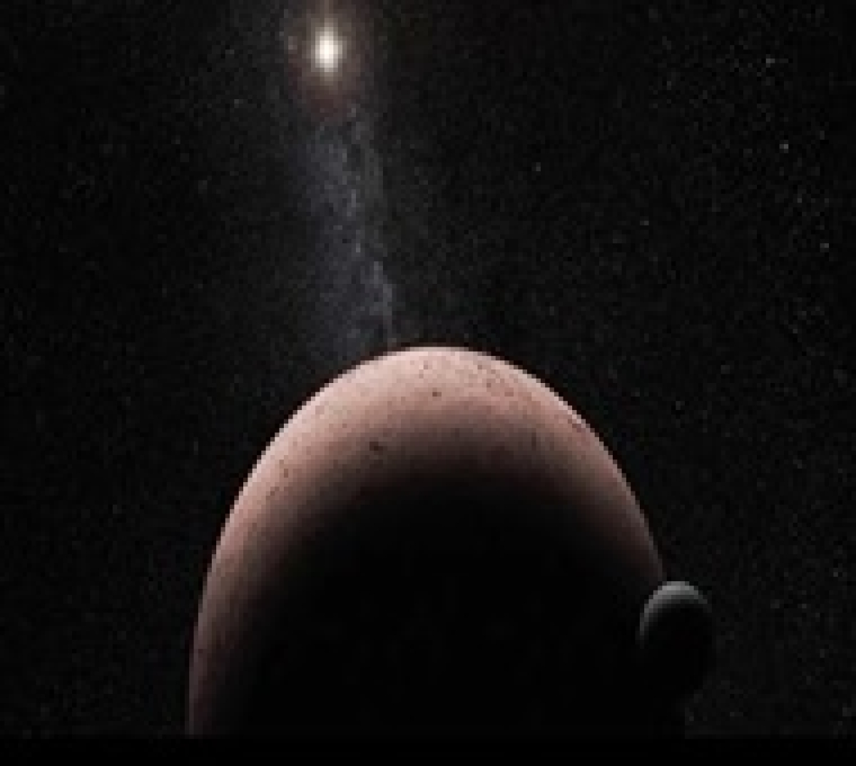 Dwarf planet Makemake has its own moon!