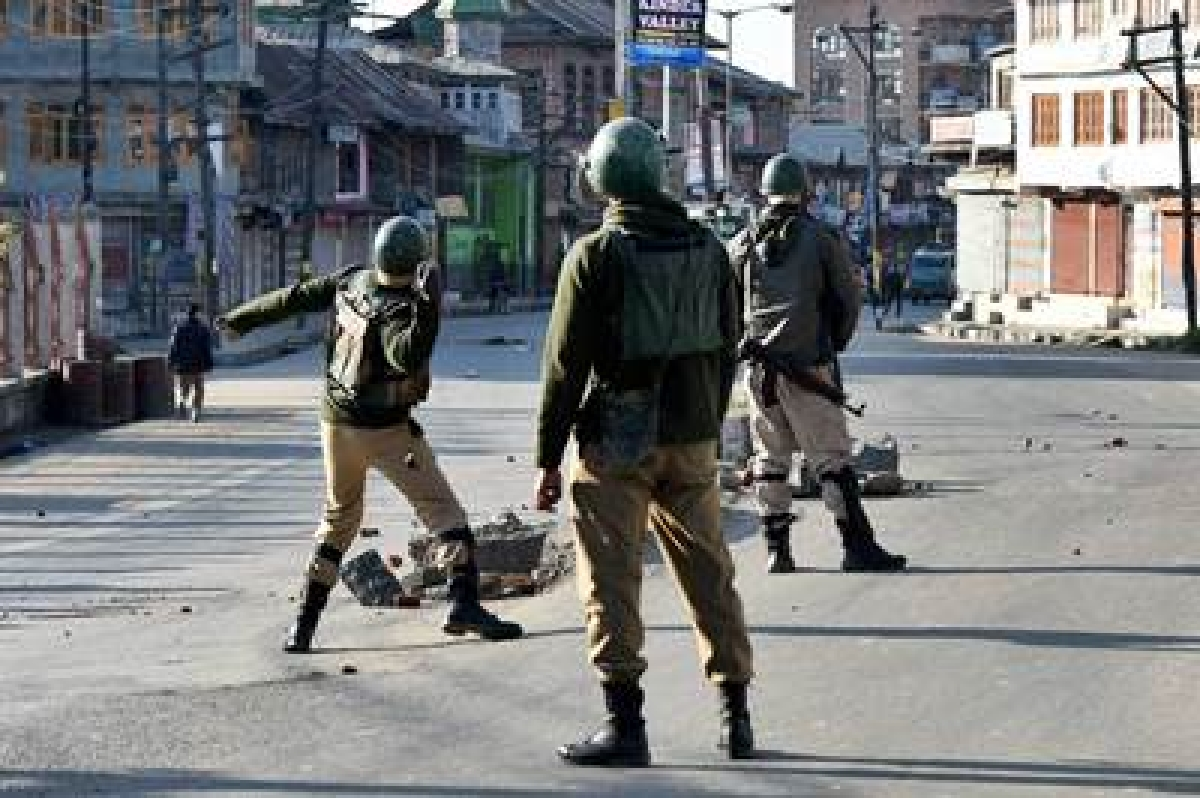 Four terrorists killed in J&K's Shopian district; police and security forces inspecting the area