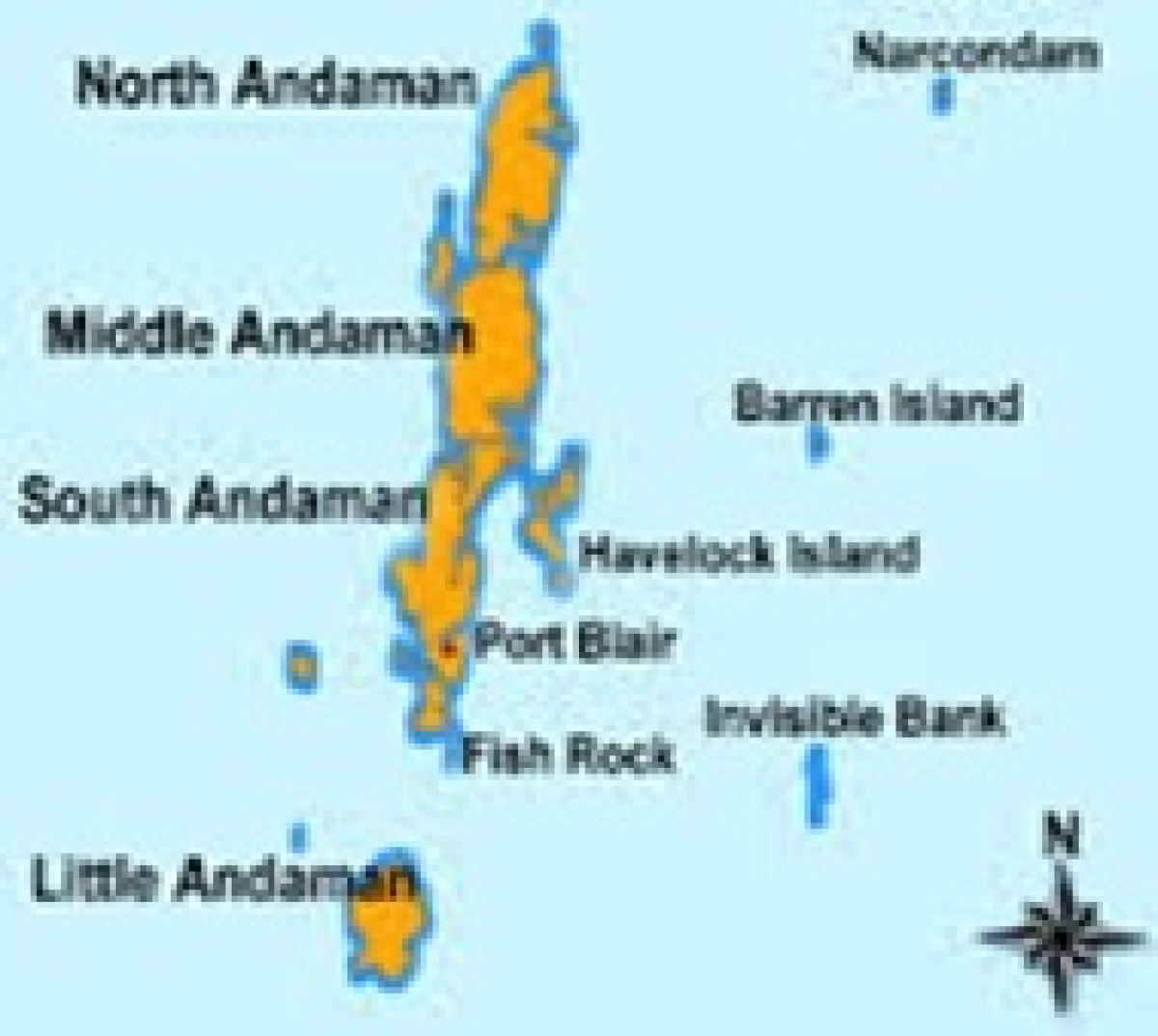 Tremors rock Andaman islands